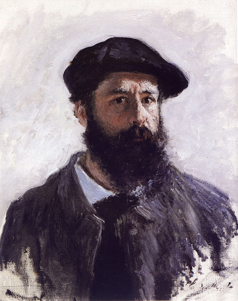 Self Portrait, oil on canvas, 1886
