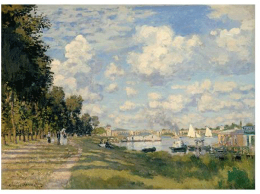 Claude Monet <i>The Port at Argenteuil </i>(c. 1872) oil on canvas 60 x 80.5 cm Mus�e d'Orsay.